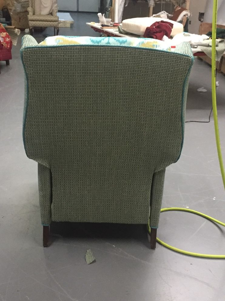Reupholster Recliner with Modern Spaces  and Comfortable Recliner Reupholstered