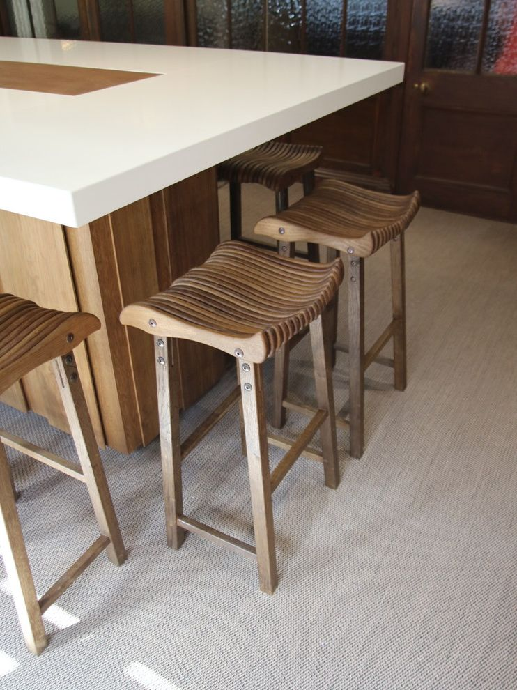 Rudd Furniture with Contemporary Kitchen  and Bespoke Kitchen Cabinets Handcrafted Handmade Kitchen Kitchen Furniture Kitchen Island Oak Stool Walnut Woodwork