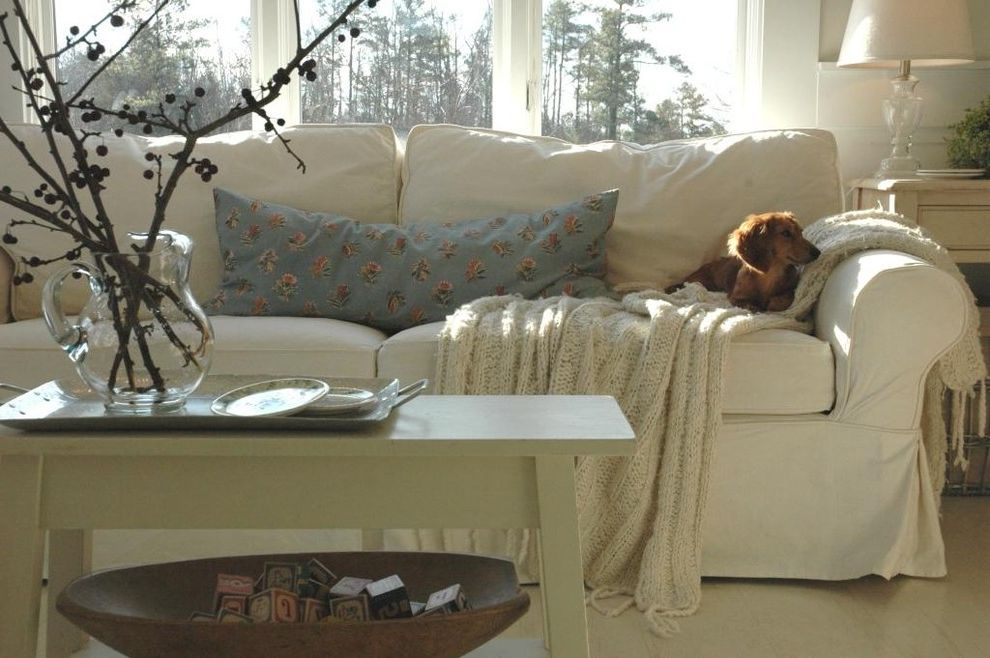 Slip Covered Sofas with Eclectic Living Room Also Cottage Farmhouse Living Room Modern Country Slipcovered Sofa