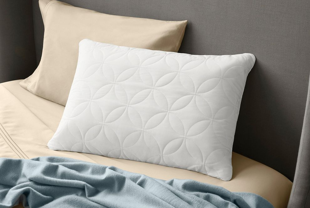 Tempur Pedic Body Pillow   Traditional Bedroom  and Bedroom Cooling Pillow Tempur Pedic