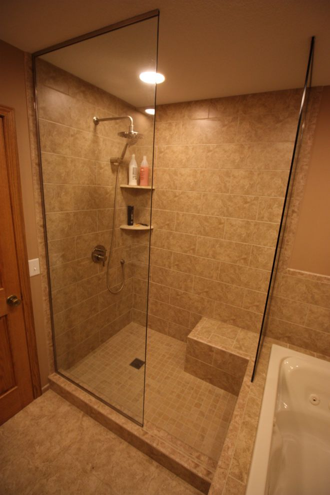 Tile Shop Coon Rapids with Transitional Bathroom Also Transitional