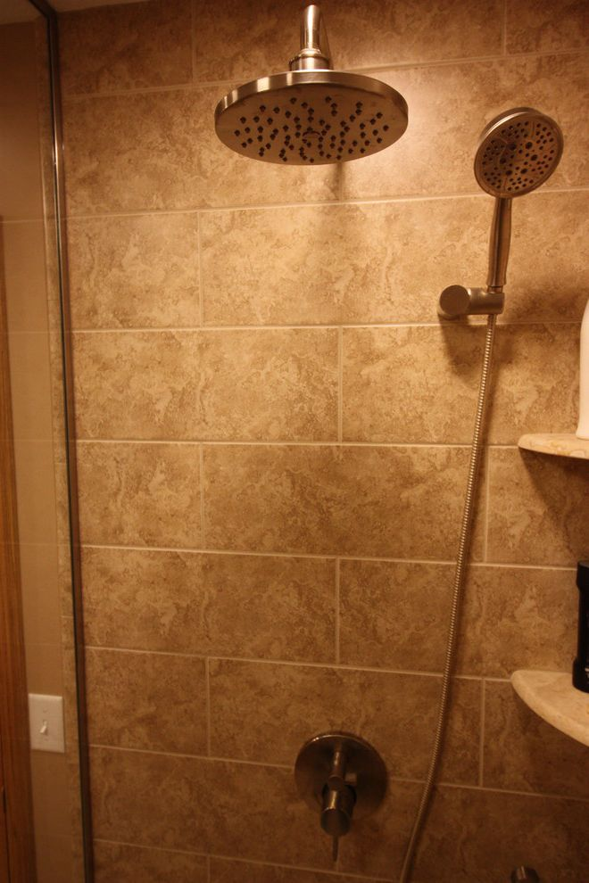 Tile Shop Coon Rapids with Transitional Bathroom  and Transitional