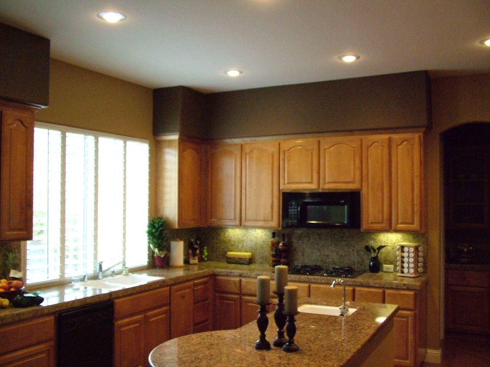 Trico Painting   Traditional Kitchen  and Exterior Painting Interior Painting Trico Painting