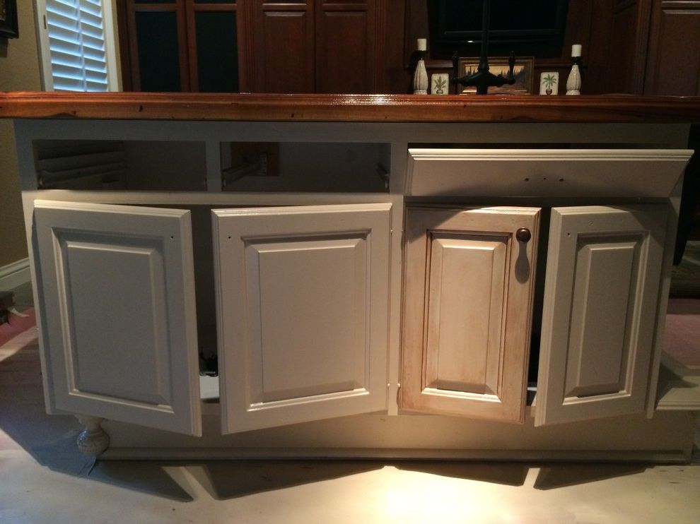 Trico Painting   Traditional Spaces Also Bar Cabinets Paints Stains and Glazes