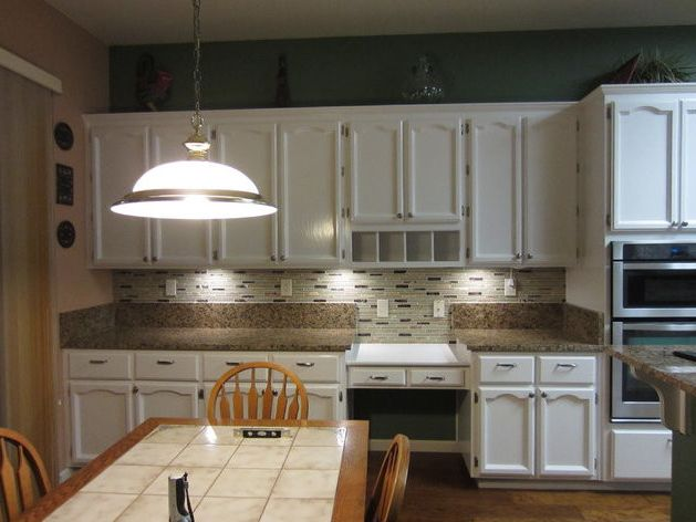 Trico Painting   Traditional Spaces  and Oak Cabinets