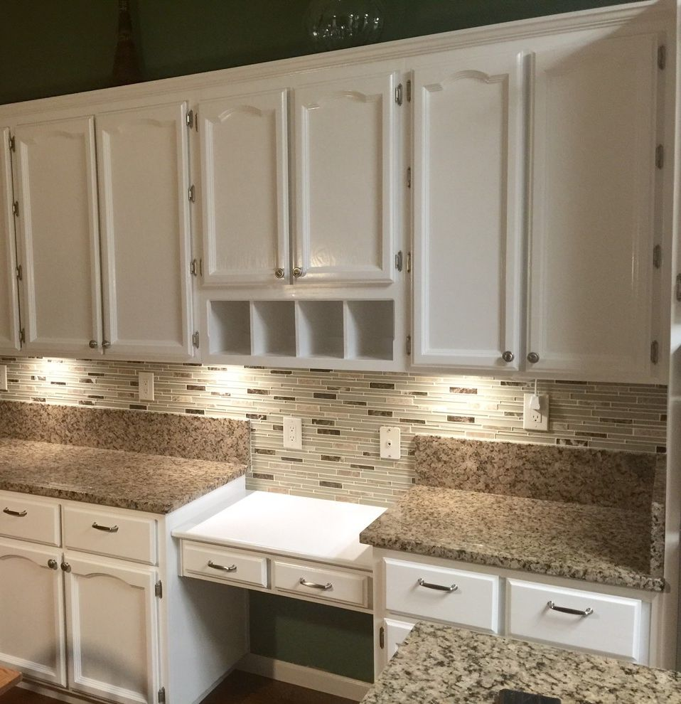Trico Painting with Traditional Spaces Also Oak Cabinets