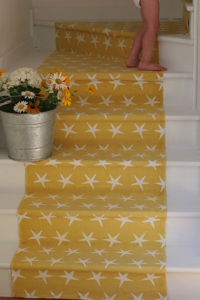 What is Kilz Used for   Beach Style Staircase  and Budget Beach Cottage Stair Redo