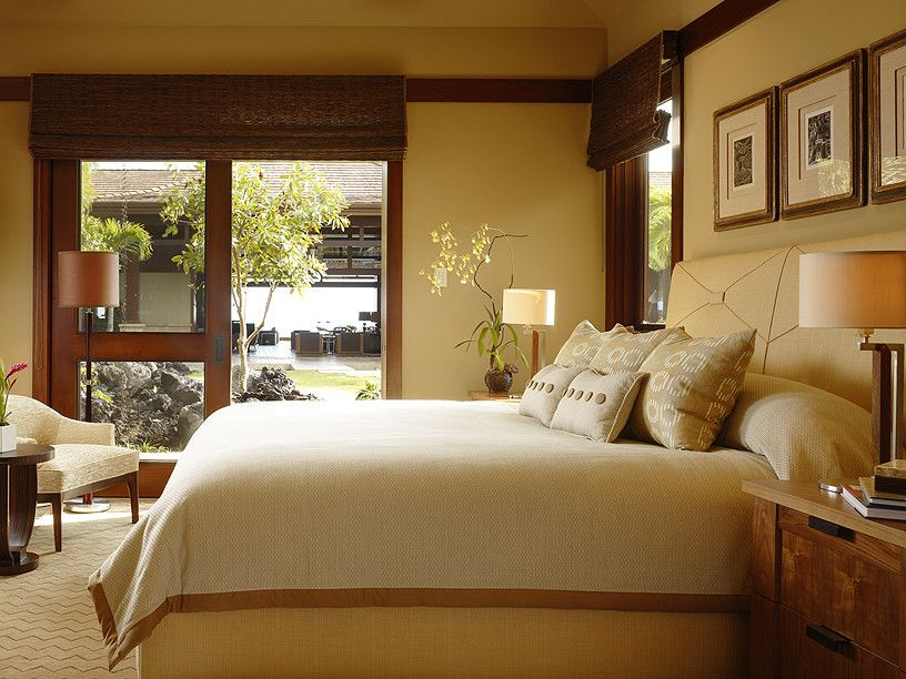 Window Treatments for Sliders   Contemporary Bedroom  and Contemporary