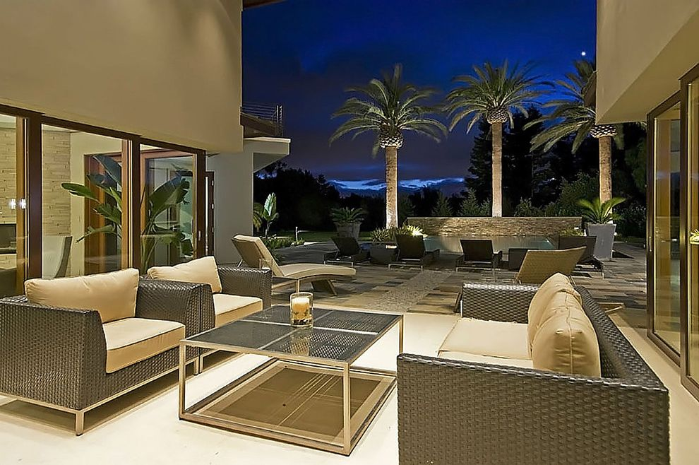 Casa Furniture Orlando with Contemporary Patio Also Atrium Garden Lighting Neutral Colors Outdoor Couch Outdoor Cushions Outdoor Furniture Outdoor Lighting Outdoor Sofa Outdoor Woven Furniture Palm Tree Palm Trees Patio Furniture View Woven Furniture