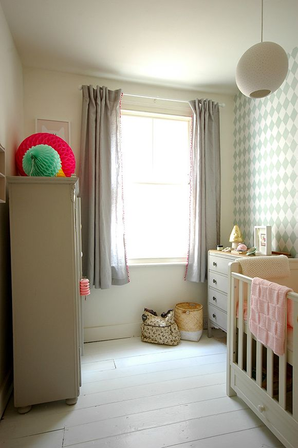 C&s Nursery with Eclectic Nursery  and Baby Room Handmade Nursery Vintage Wallpaper White Floor
