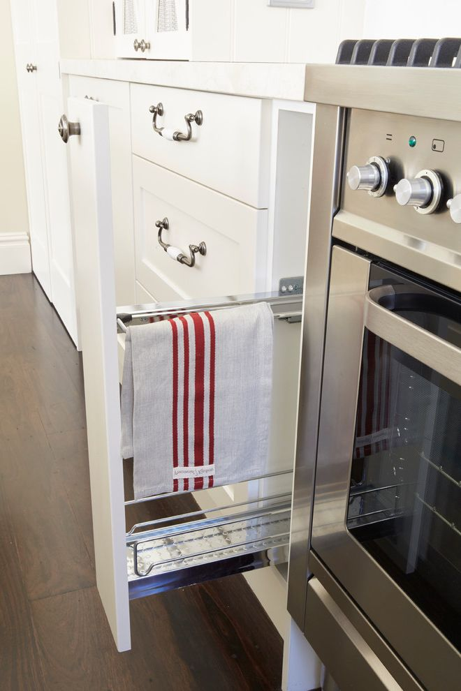 Dish Towel Sets   Traditional Kitchen Also Creama Marfil Marble Dark Floors French Provincial Marble Benchtop Shaker Style Three Light Kitchen Island Light Timber Flooring White Cabinet White Kitchen White Splashback White Tiles Wire Mesh Cabinet Doors