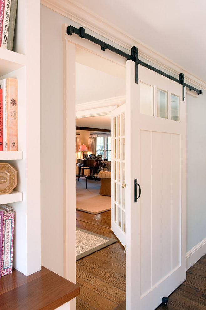 High Style Rentals   Traditional Kitchen Also Barn Door Black Hardware Hanging Door Pocket Door Alternative Rail Room Divider Sliding Door White