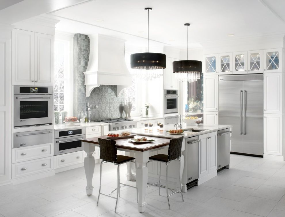 Jenn Air Gas Cooktop with Downdraft   Eclectic Spaces Also Eclectic Kitchen Jenn Air Jenn Air Appliances Jenn Air Jenn Air Appliances White Eclectic Kitchen White Kitchen White Kitchen with Jenn Air White Kitchen with Jenn Air