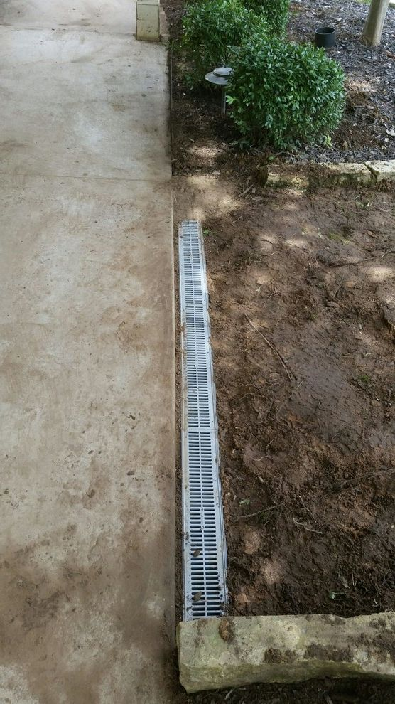 Mr Rooter Nj with  Spaces  and Channel Drain Trench Drain