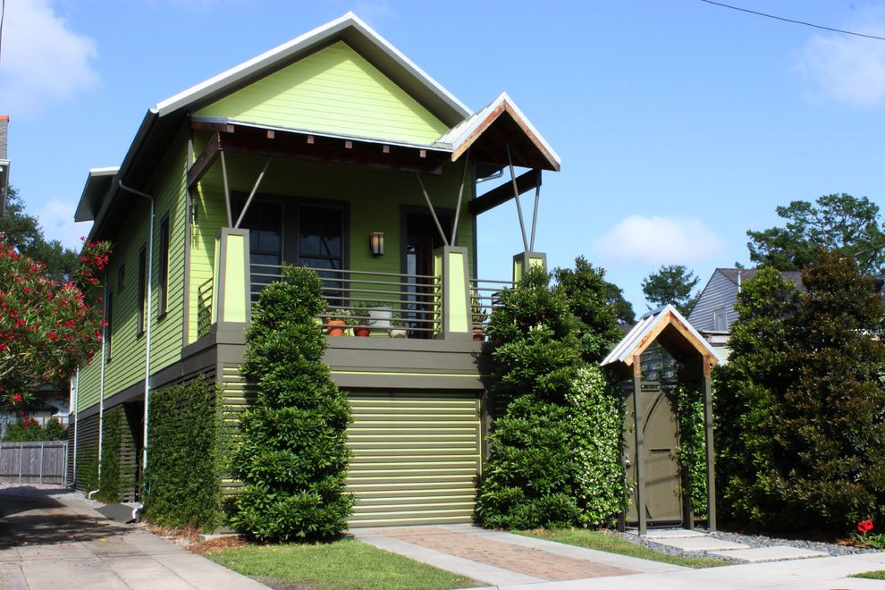 New Orleans Millworks   Contemporary Exterior  and Contemporary