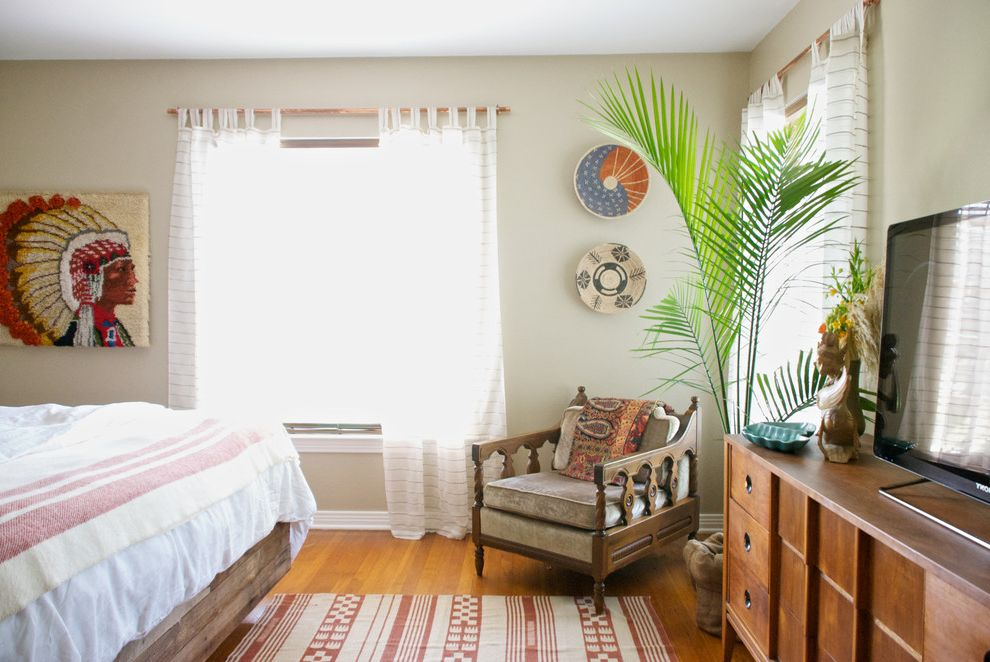 Rustic Furniture Denton Tx with Eclectic Bedroom Also Beige Wall My Houzz Native American Art Natural Lighting Ornate Wood Bed Rustic Wood Bed Sheer Curtains Wall Mounted Bowls White Bedding Wood Chair Wood Dresser Wood Floor