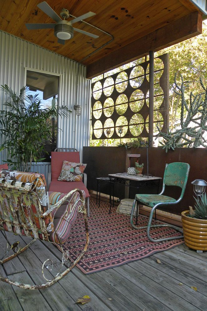 Rustic Furniture Denton Tx with Shabby Chic Style Porch Also Cactus Ceiling Fan Chair Clay Dallas Deck Distressed Ethnic Fire Pit Metal Porch Rocking Chair Rug Rusted Rustic Siding Succulents Table Texas Vintage Wall Weathered Wood Deck