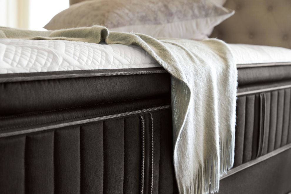 Stearns and Foster Scarborough with Contemporary Bedroom  and Bed Bedding Handcrafted Mattresses