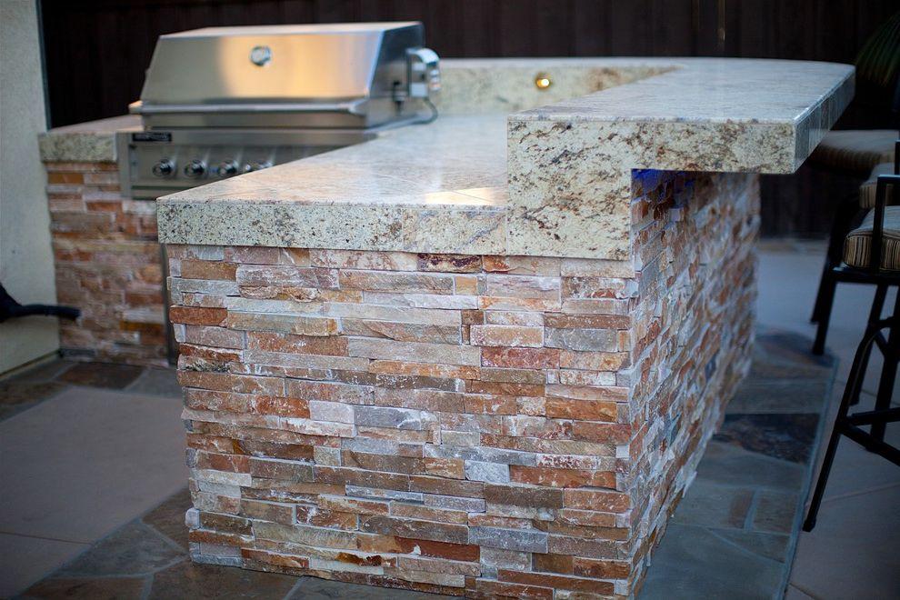Aaa Antioch Ca   Modern Landscape Also Barbecue Concrete Flagstone Integral Color Concrete Landscape Lighting Stone Veneer