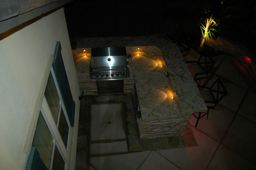 Aaa Antioch Ca with Modern Landscape  and Barbecue Concrete Flagstone Integral Color Concrete Landscape Lighting Stone Veneer