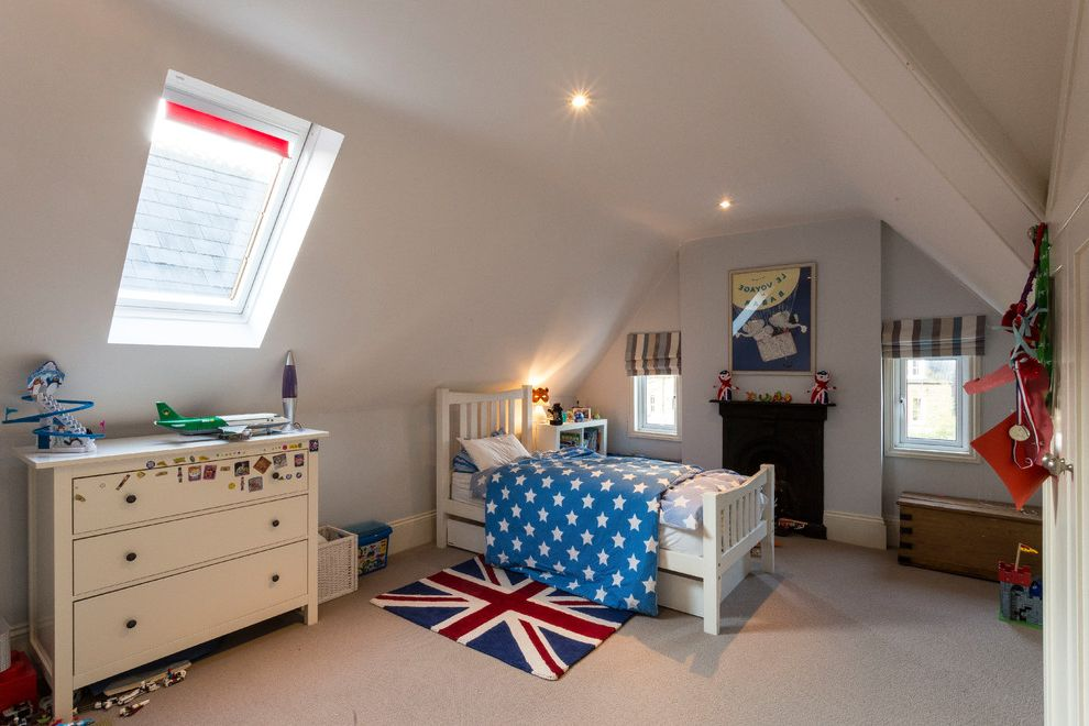 Annapolis Property Services   Modern Kids  and Attic Bedroom Boys Bedroom Boys Bedroom Boys Bedroom Chest of Drawers Ideas for a Boys Bedroom Kids Bedroom Refurbishment Star Duvet Union Jack Rug