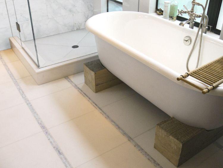 Azaleas Nyc   Eclectic Bathroom Also Bathroom Calacatta Tile Glass Mosaic Master Bath Shower Thassos Tub