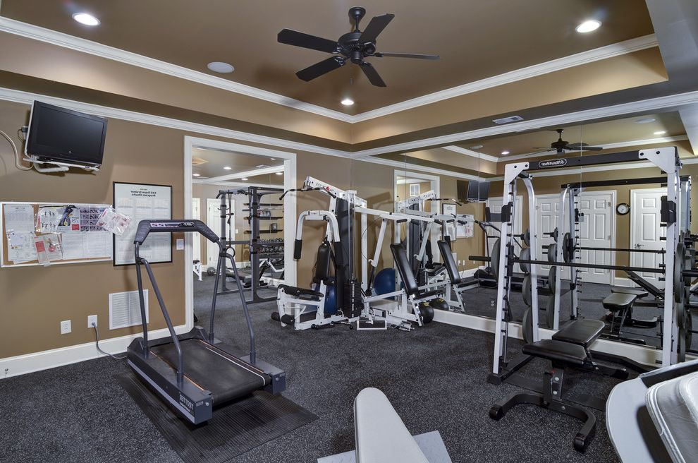 Golds Gym Sandhills   Traditional Home Gym Also Traditional