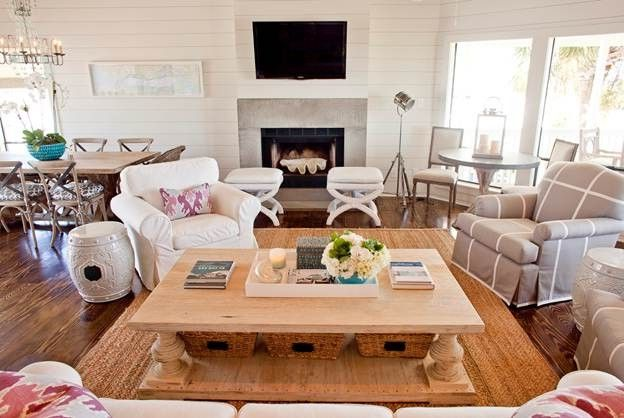 Home Depot Billings with Beach Style Living Room  and Beach Style