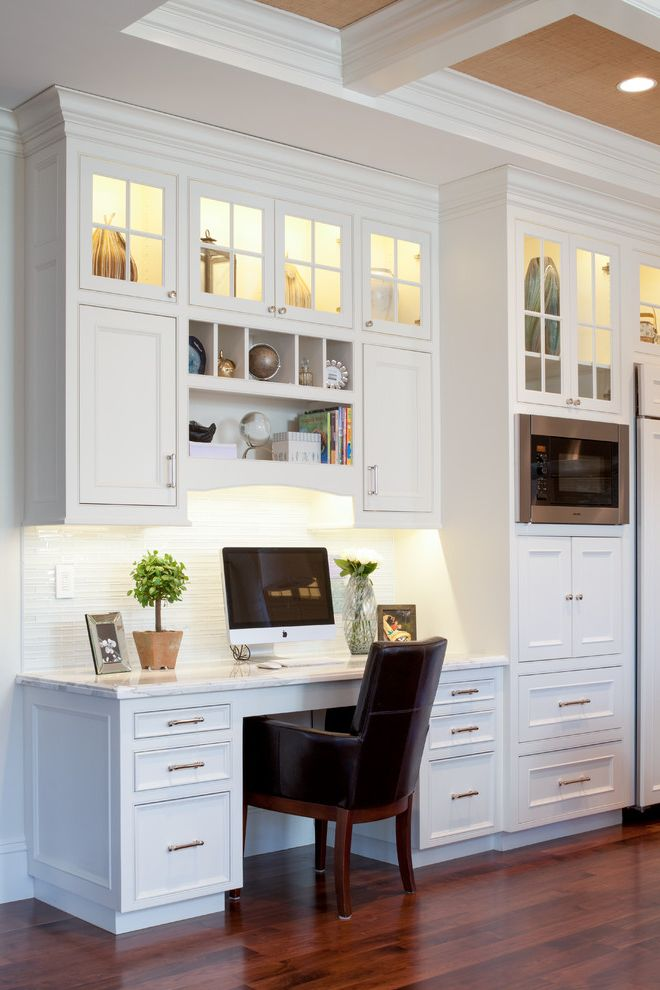 Home Depot Billings with Traditional Home Office Also Clerestory Cabinets Coffered Ceiling Desk in Kitchen Home Office Open Shelves Recessed Lighting