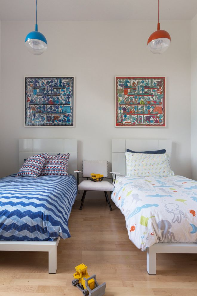 Ikea Twin Cities   Contemporary Kids Also Atherton Colorful Geometric Bedding Hillsborough Kentfield Los Altos Luxford Mill Valley Modern Palo Alto Pendant Light Pendant Lights Platform Beds Ross Sausalito Tiburon Twin Bed Two Twin Beds
