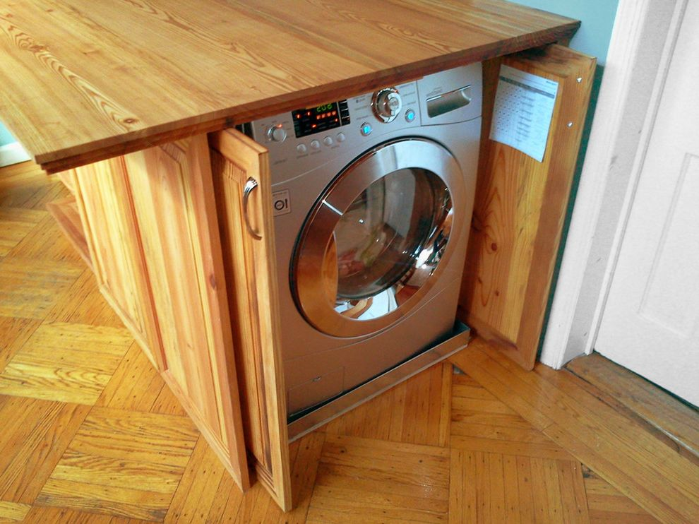 Lg Washer and Dryer Reviews with Traditional Kitchen  and Traditional