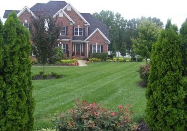 Lucas Lawn and Landscape    Landscape Also Curb Appeal Custom Landscape Landscape Design Lawn Design Outdoor Style