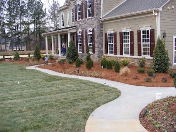 Lucas Lawn and Landscape with  Landscape  and Curb Appeal Custom Landscape Landscape Design Lawn Design Outdoor Style
