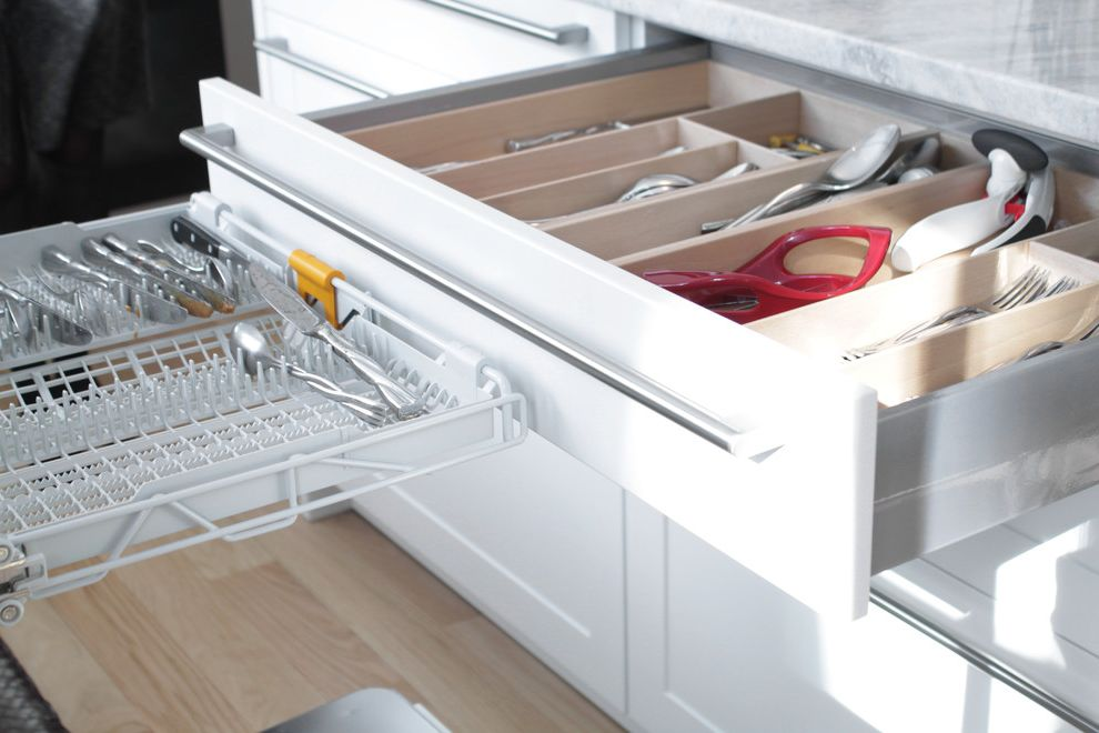 Quiet Dishwashers with Contemporary Spaces  and My Houzz