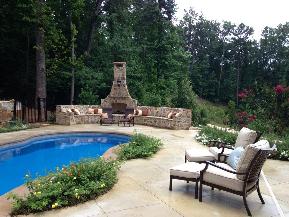 Realty South Birmingham Al with Traditional Pool  and Traditional
