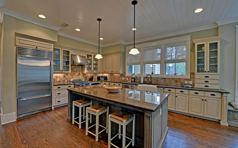 Seaside Florida Vacation Rentals   Traditional Kitchen  and Envision Virtual Tours Florida Professional Photographers Santa Rosa Beach Seaside Vacation Rentals Watercolor