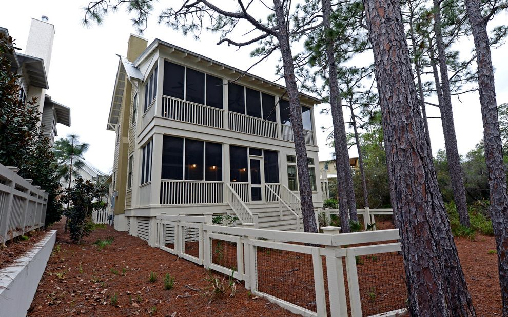 Seaside Florida Vacation Rentals with Traditional Exterior  and Envision Virtual Tours Florida Professional Photographers Santa Rosa Beach Seaside Vacation Rentals Watercolor