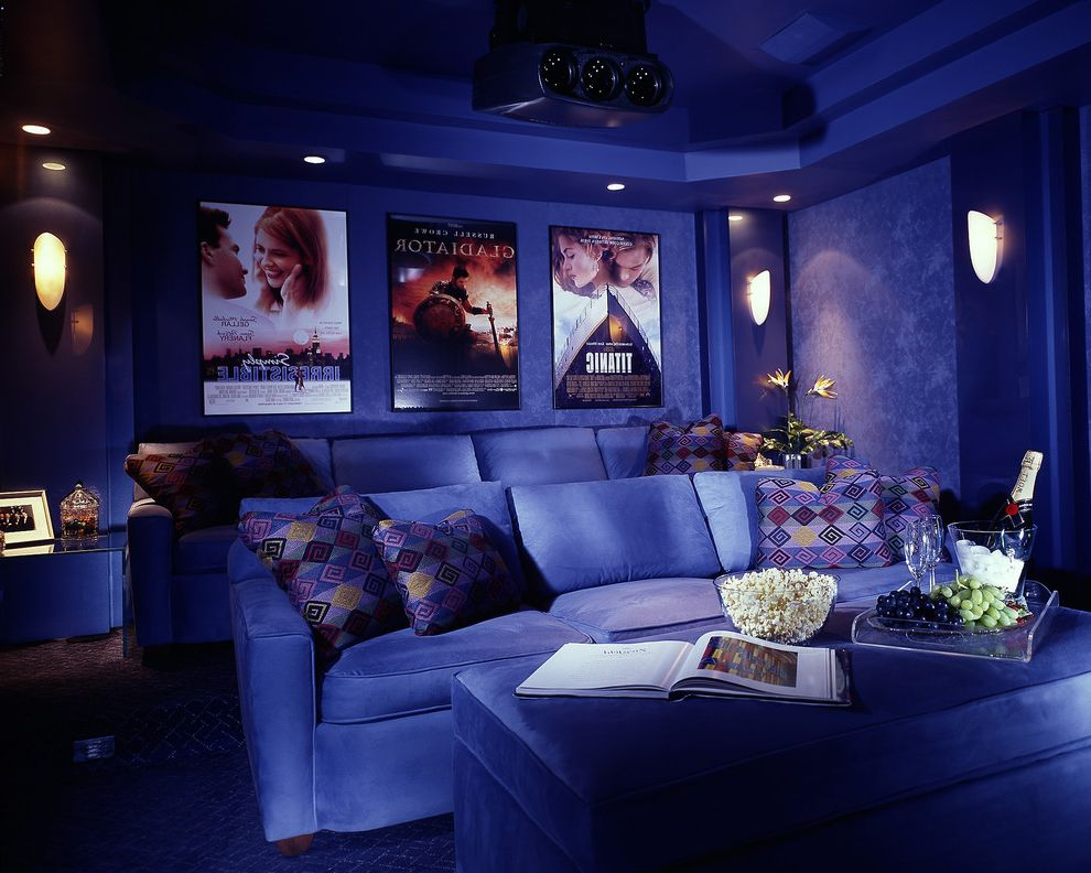 Sparta Theater Nj   Contemporary Home Theater Also Contemporary