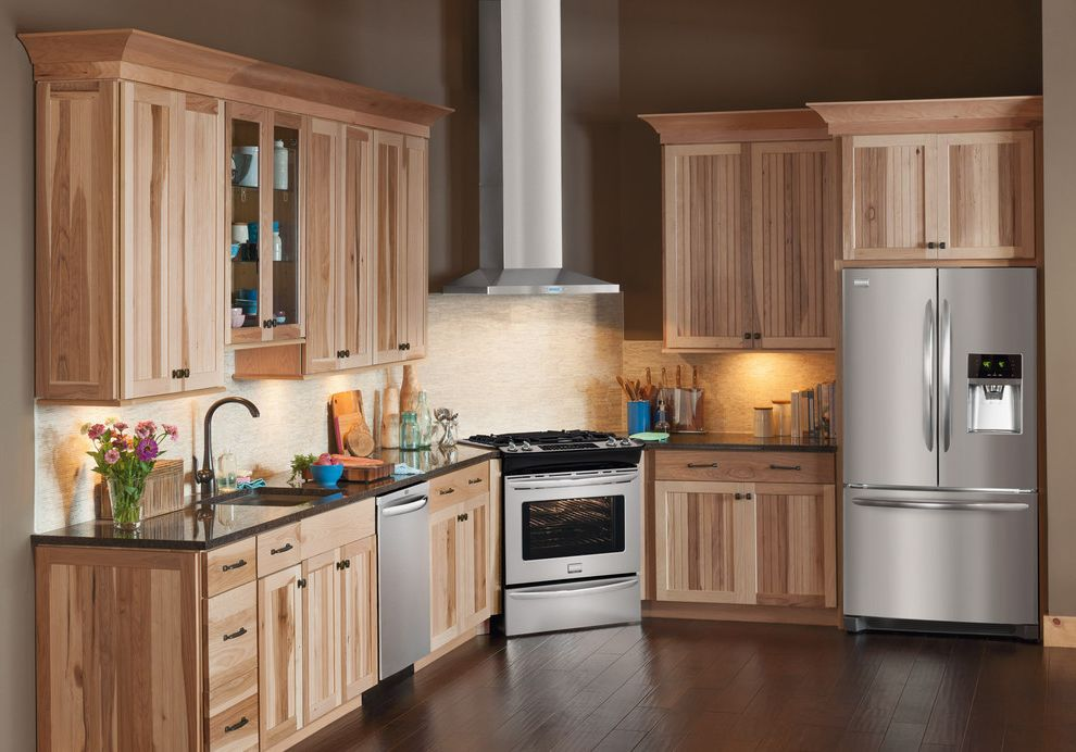 Aj Madison Reviews with Rustic Kitchen Also Books Carved Wood Ceramics Cookie Jars Cutting Boards Floral Arrangement Flowers Glass Cabinets Granite Hardwood Flooring Library Light Wood Mosaic Tiles Oil Vinegar Bottles Unfinished Wood Wicker Basket