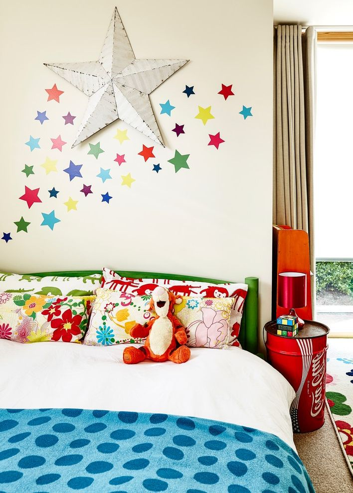 All Star Limo   Eclectic Spaces  and Childrens Bedding Coke Can Coke Can Table Fun Childrens Bedroom Green Bed Frame Jenga Kids Bedroom Kids Room Star Star Stickers Tigger Wall Stickers