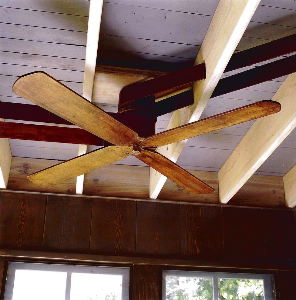 Belt Driven Ceiling Fans Traditional Home Office Also Ceiling Fan English Cottage Exposed Joists Fan Fan Belt Leather Belt Multiple Fans Wood Ceiling Wood Fan Wood Wall Finefurnished Com