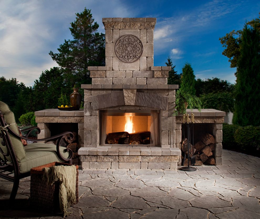 Blue Max Materials with Traditional Patio Also Belgard Block Belgard Pavers Fireplace Sitting Area