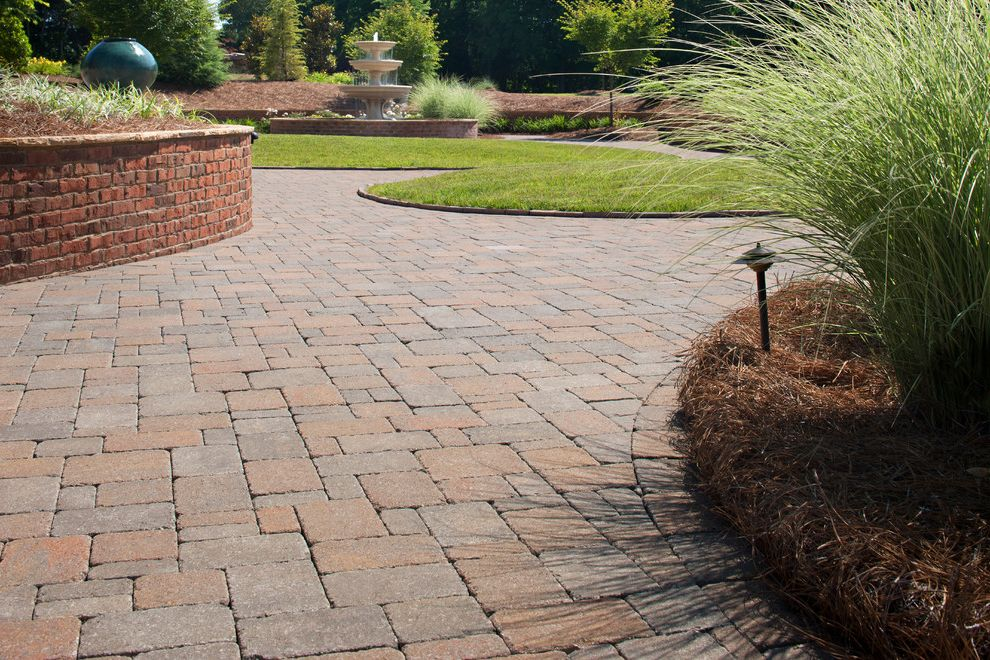 Blue Max Materials with Traditional Patio Also Belgard Pavers Patio