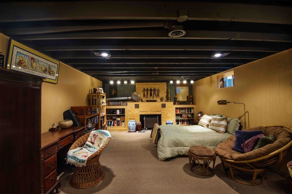 Bricco Harrisburg Pa with Contemporary Basement Also Bamboo Bamboo Paneling Basement Basement Paneling Behr Black Ceiling Carpet Fedora Paneling Remove Ceiling