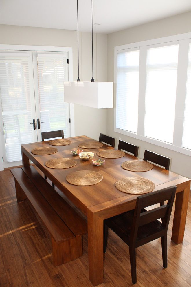 Carbonized Bamboo Flooring with Contemporary Dining Room Also Bamboo Bamboo Flooring Carbonized Flooring Strand Woven