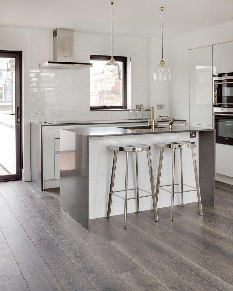 Cisco Flooring Supplies with Contemporary Kitchen  and Kitchen Bar Stools Kitchen Island Lighting Kitchen Islands Carts Metallic Open Space White Tiles