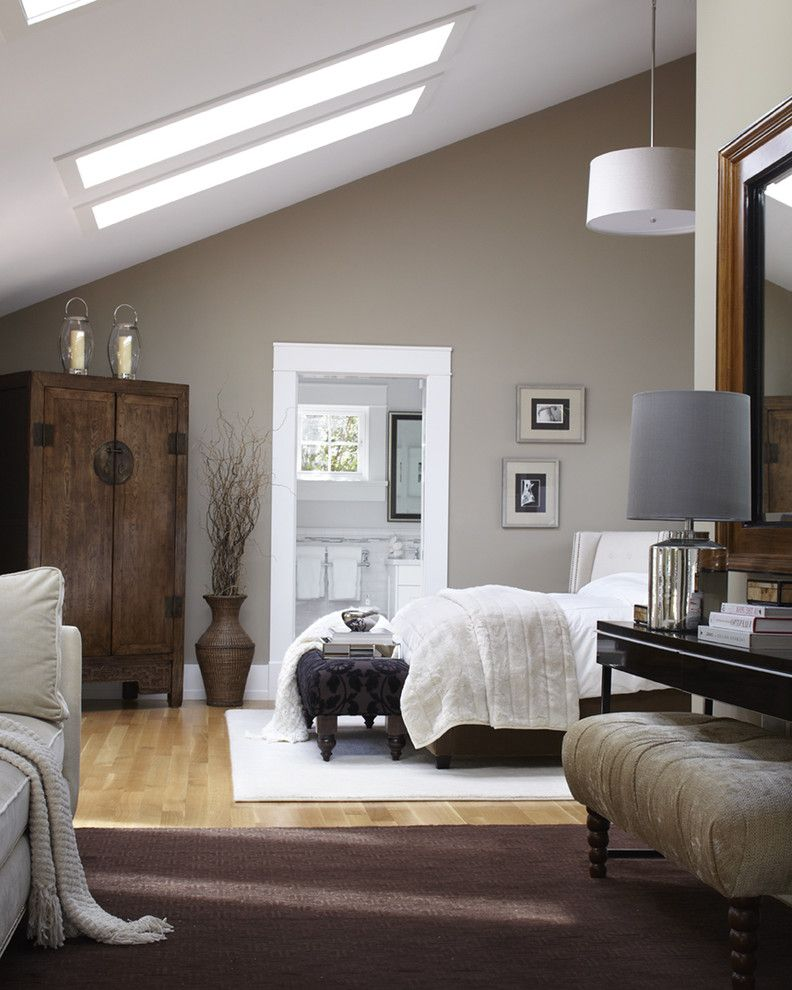 Cost to Paint a Room with Transitional Bedroom  and Master Bedroom