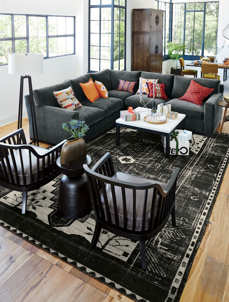 Crate and Barrel Chicago with Contemporary Living Room  and Contemporary