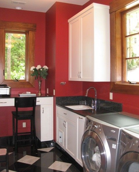 Do Male Cats Spray   Eclectic Laundry Room Also Desk with a View Hidden Litter Box Laundry Room