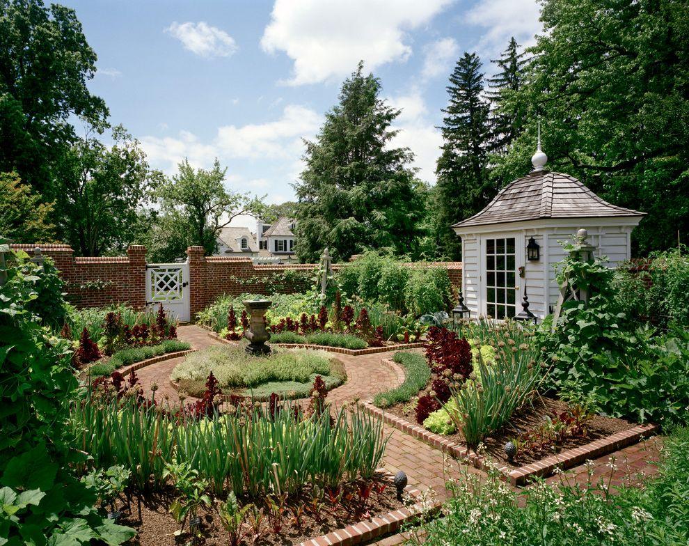 Fairfield Garden Center with Farmhouse Landscape Also Brick Garden Brick Walled Garden Chippendale Gate Circular Garden Garden Garden Shed Vegetable Vegetable Garden Walled
